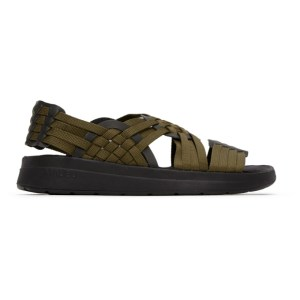 Malibu Sandals Khaki and Black Canyon Sandals