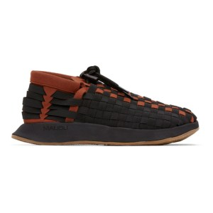 Malibu Sandals Black and Brown Battenwear Edition Latigo II Sneakers