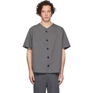Goodfight Grey Turbo Flow Short Sleeve Shirt