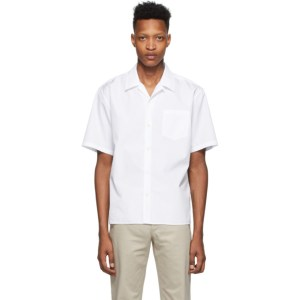 Norse Projects White Carsten Short Sleeve Shirt