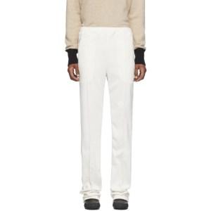 Random Identities Off-White Dressy Track Pants