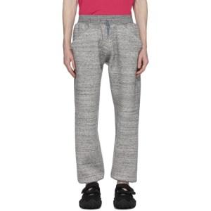 Fumito Ganryu Grey Kurta Jogger Lounge Pants