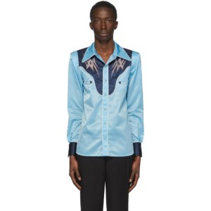 Sankuanz Blue Western Shirt