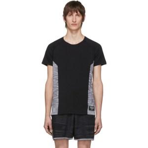 adidas x Missoni Black Wool Cru T-Shirt