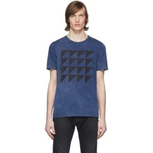 Eidos Blue Tie-Dye T-Shirt