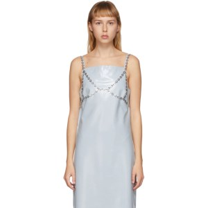 Justine Clenquet SSENSE Exclusive Silver Gia Body Chain