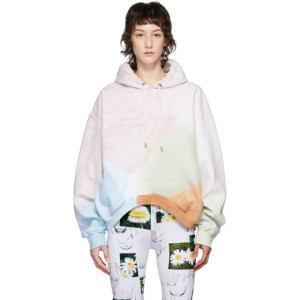 Collina Strada Multicolor Charlie Engman Edition Rounded Hem Hoodie