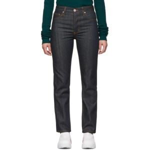 S.R. STUDIO. LA. CA. Indigo Contrast Stitching C Jeans