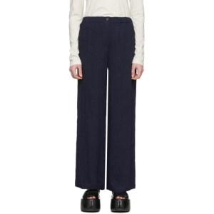 Raquel Allegra Navy Kate Trousers