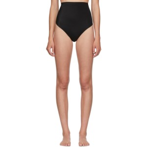 Agent Provocateur Black High-Waisted Dion Sculpting Thong