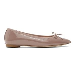 Repetto Pink Patent Narde Ballerina Flats