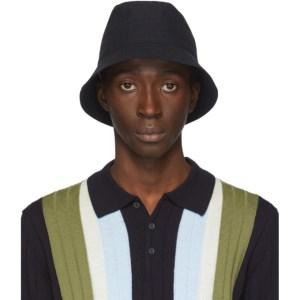 Barena Navy Ostro Bucket Hat