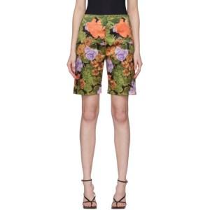 Richard Quinn Multicolor Floral Shorts