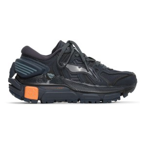Li-Ning Black and Navy Sun Chaser Sneakers
