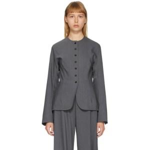 Eftychia Grey Hybrid Jacket