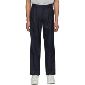 GR-Uniforma Navy Classical Suit Pants