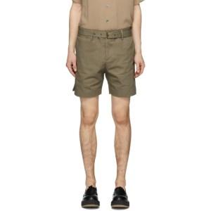 Davi Paris Khaki Sahara Shorts