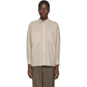 Arch The Beige Two-Pocket Shirt