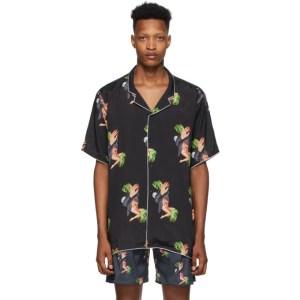 Alchemist Black Amazonia Short Sleeve Shirt
