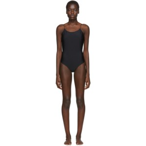 Oseree SSENSE Exclusive Black One-Piece Swimsuit