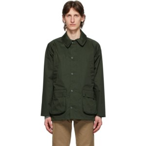 Barbour Green Waterproof Bedale Jacket