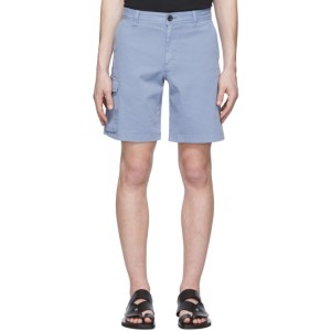 PS by Paul Smith Blue Cargo Shorts
