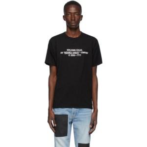 Benjamin Edgar SSENSE Exclusive Black Insanely Great T-Shirt