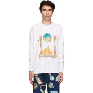 Kids Worldwide White Earth Roasting T-Shirt