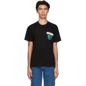 Kids Worldwide Black Save The World T-Shirt
