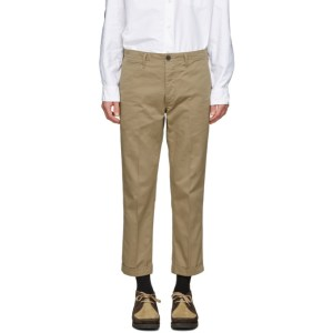 Visvim Beige High Water Chinos