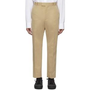 OAMC Beige Cotton Idol Trousers