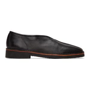 Lemaire Black V-Cut Slippers