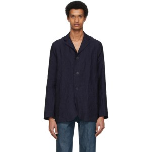 Toogood Navy Linen The Metalworker Jacket