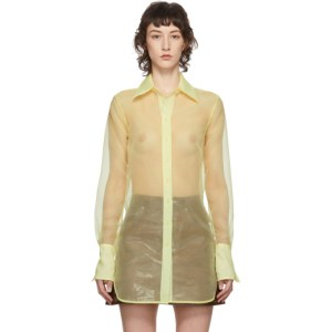 Simon Miller Yellow Rowena Shirt