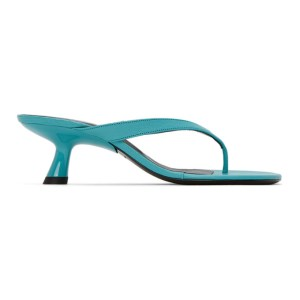Simon Miller Blue Beep Thong Sandals