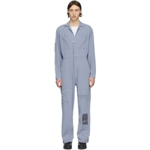 Enfants Riches Deprimes Blue Assemblage Jumpsuit