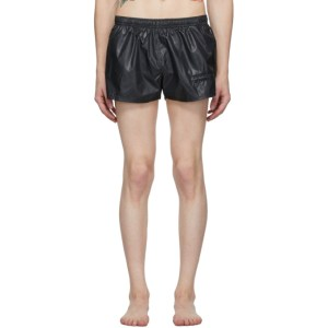Enfants Riches Deprimes Black Logo Swim Shorts