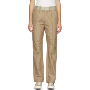 A-COLD-WALL* Tan Converse Edition Ripstop Trousers