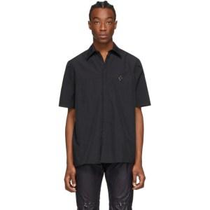 A-COLD-WALL* Black Rhombus Badge Short Sleeve Shirt