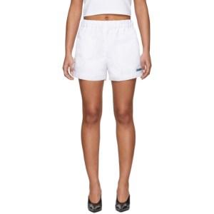 MISBHV White The MISBHV Shorts