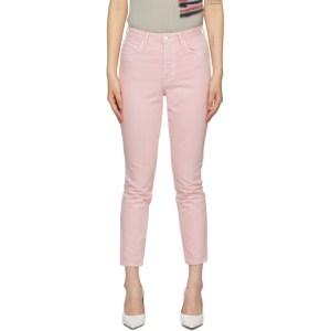 Grlfrnd Pink Karolina Jeans