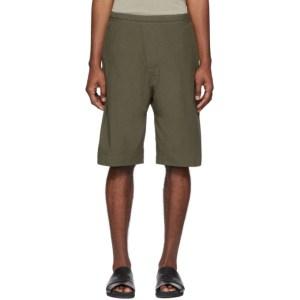 Jan-Jan Van Essche Green Organic Cotton Shorts