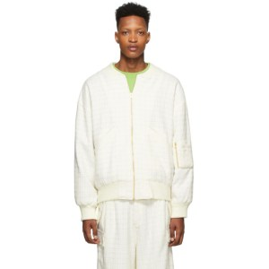 Landlord Off-White Shanelle Bomber Jacket