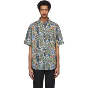 HOPE Multicolor Paisley Note Shirt