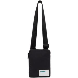 Diesel Black Discover Me Messenger Bag
