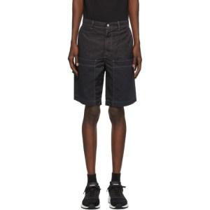 Diesel Black Twill P-Trent Shorts