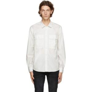 Diesel White Allen-Ka Button-Down Shirt
