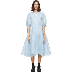 Cecilie Bahnsen Blue Libby Dress