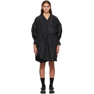 Cecilie Bahnsen SSENSE Exclusive Black Amalie Dress