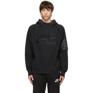 Nike Black Fleece NSW Hoodie